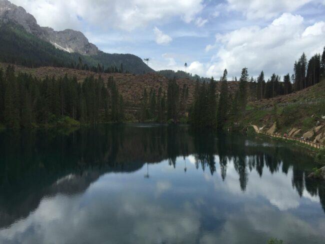 italiainpiega-pieghe meravigliose-itinerari moto nord italia-lago di carezza 3