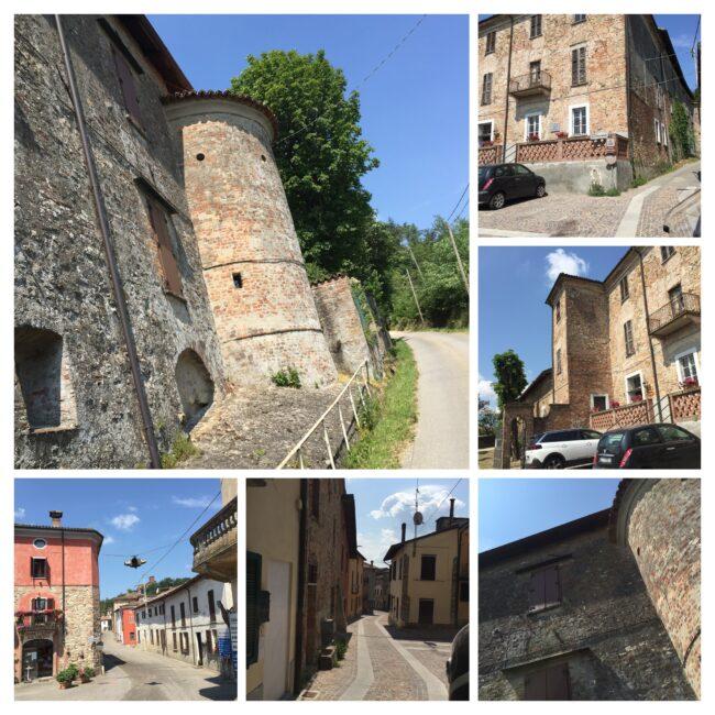 italiainpiega-pieghe meravigliose-itinerari moto nord italia-oltrepo' pavese-castello montalto pavese