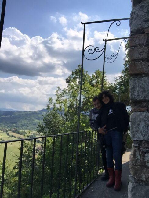 italiainpiega-pieghe meravigliose-itinerari moto nord italia-oltrepo' pavese-castello zavattarello-3