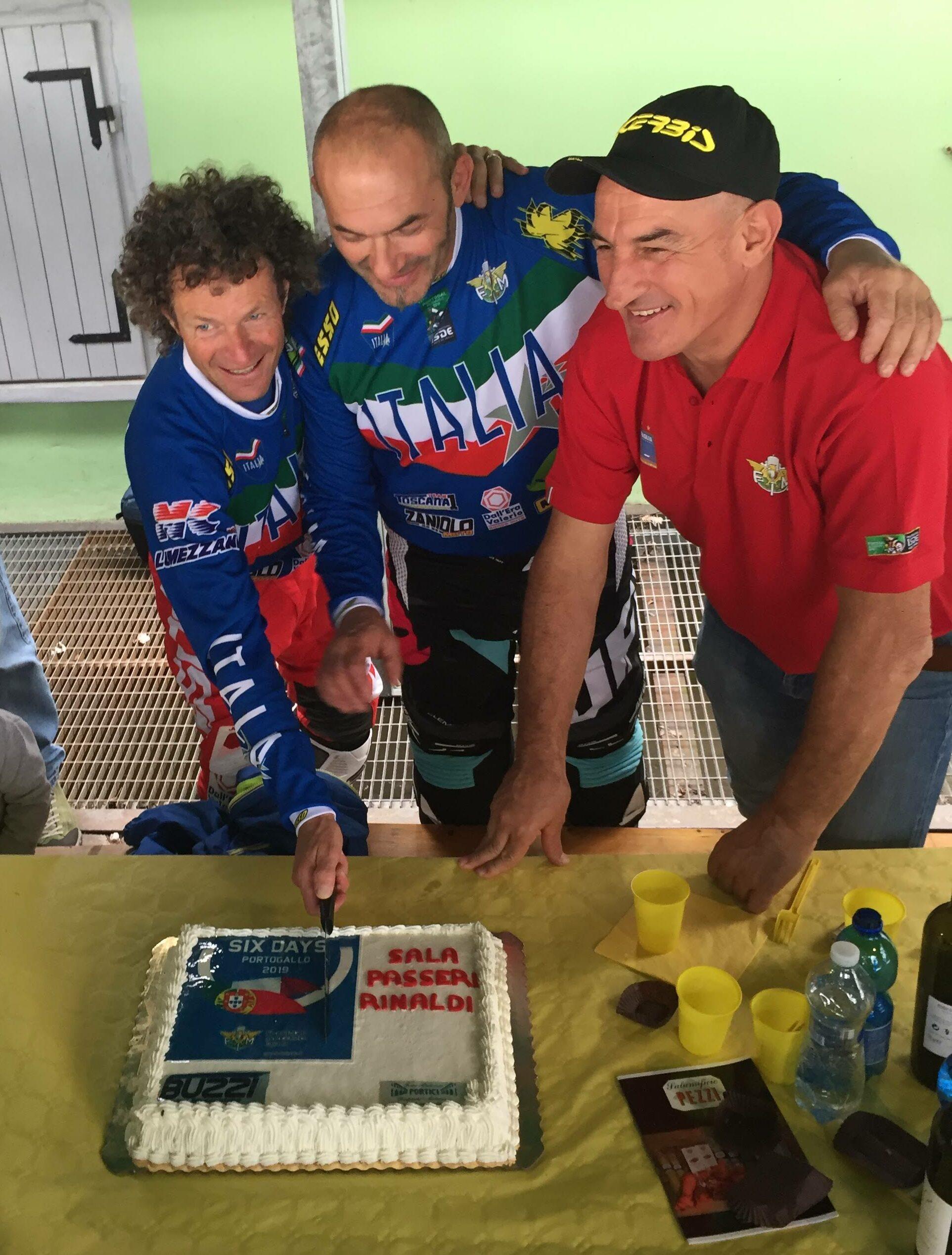 italiainpiega-evento-dream team veterans-taglio torta