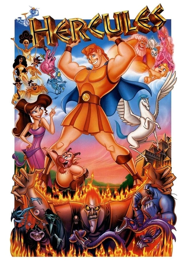 """Poster for the movie """"Hercules"""""""