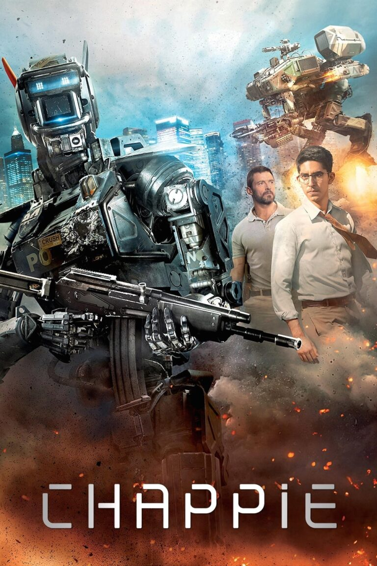 """Poster for the movie """"Chappie"""""""