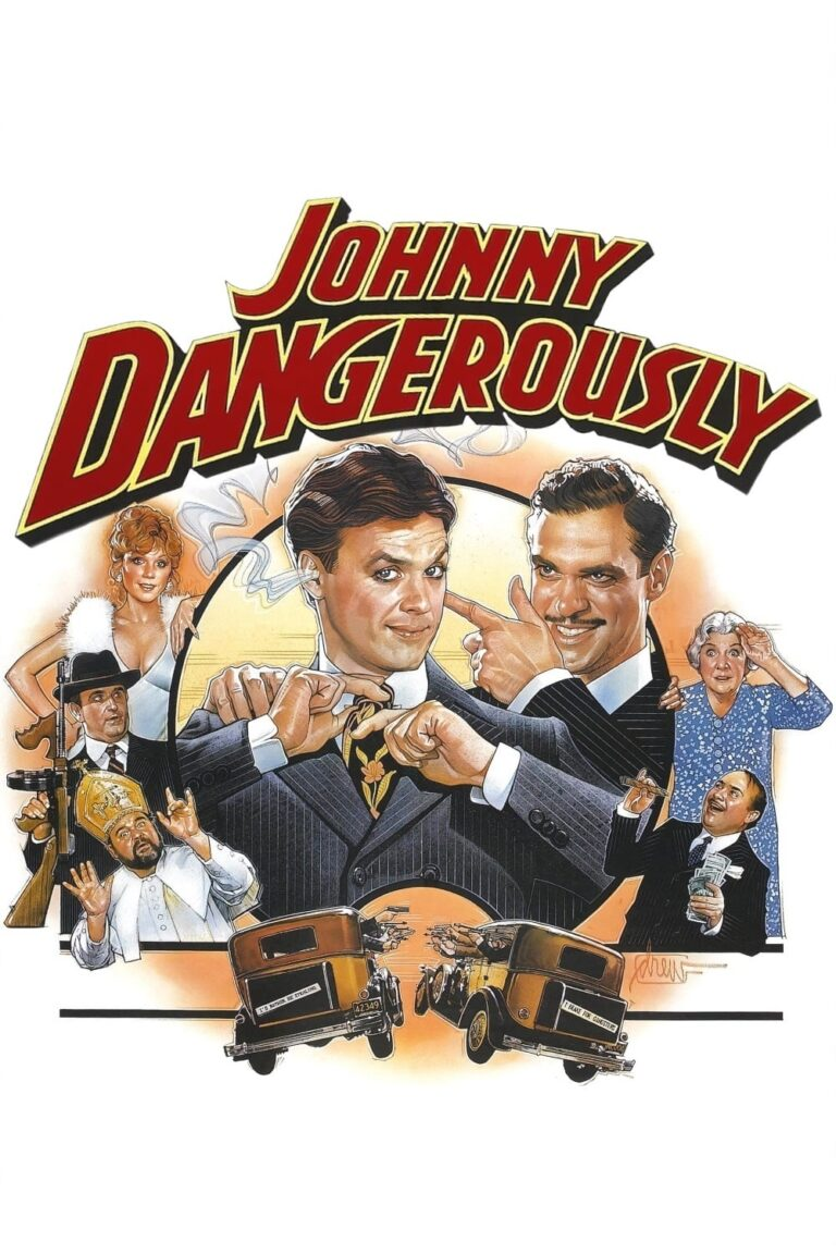 """Poster for the movie """"Johnny Dangerously"""""""