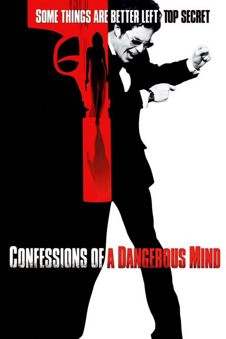 """Poster for the movie """"Confessions of a Dangerous Mind"""""""