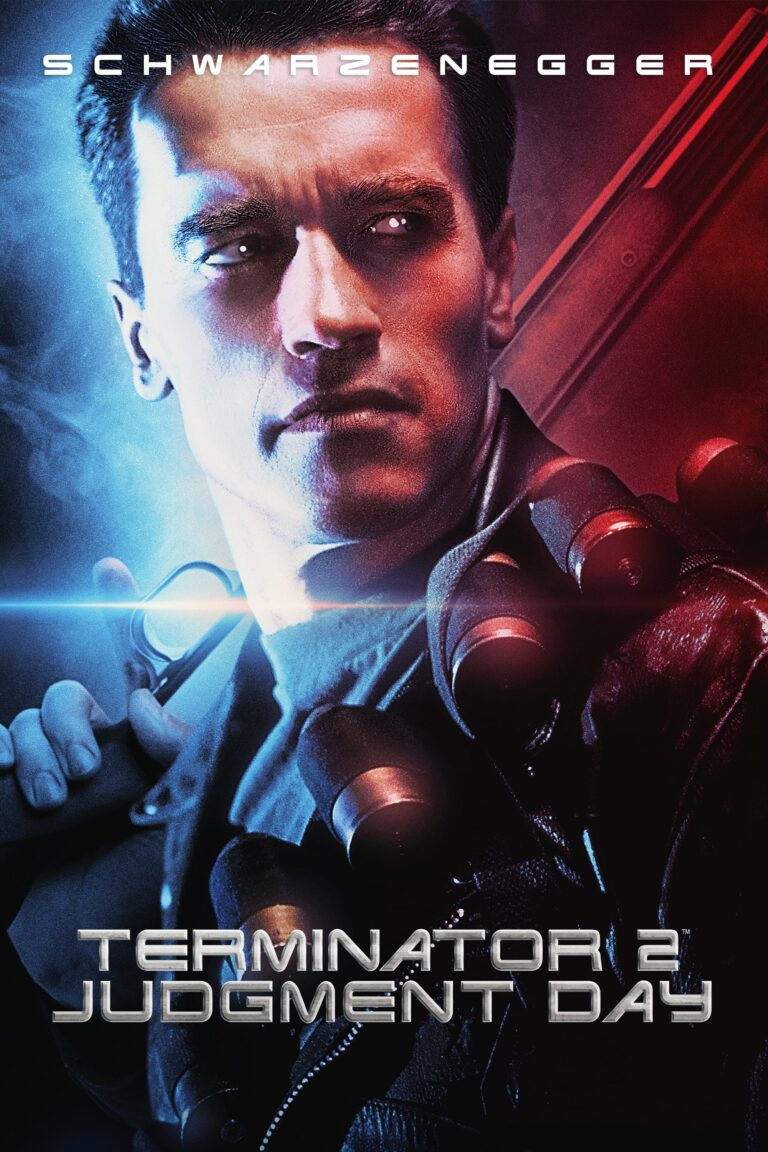 "Poster for the movie ""Terminator 2: Judgment Day"""
