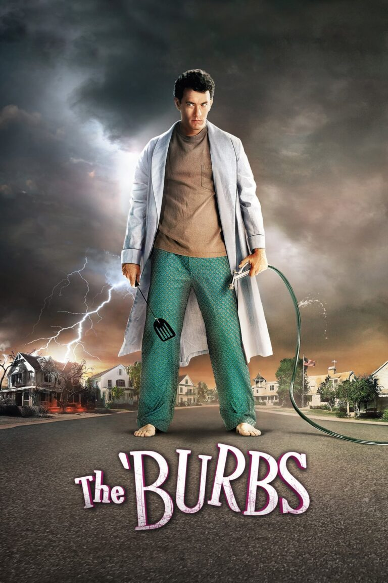 """Poster for the movie """"The 'Burbs"""""""