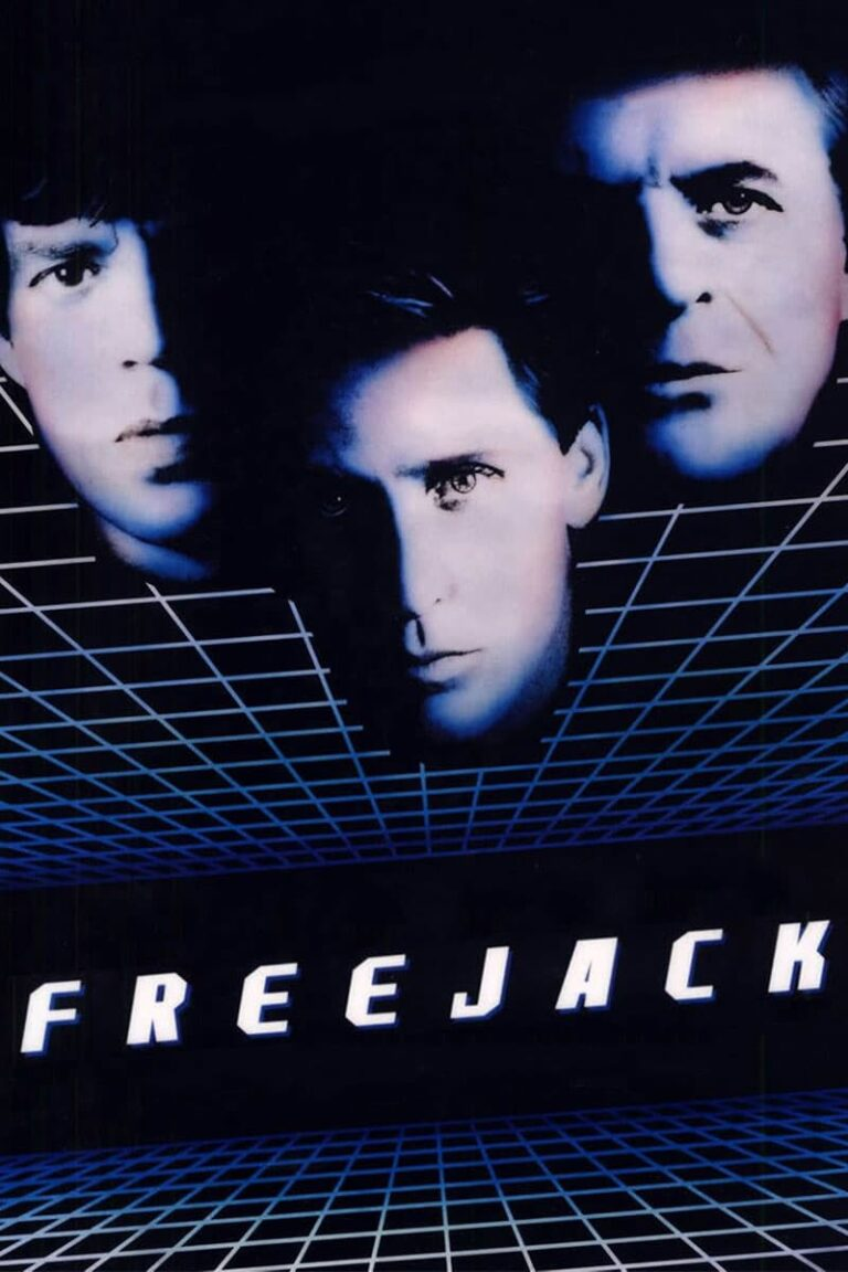 """Poster for the movie """"Freejack"""""""