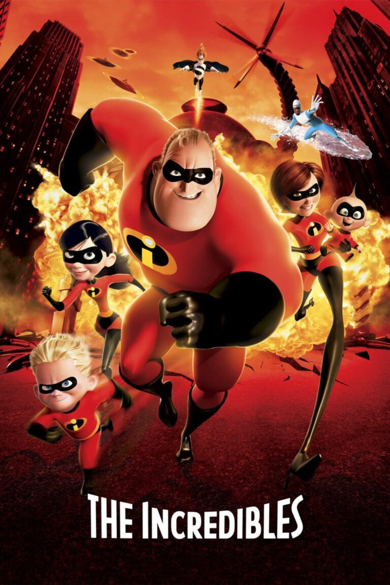 """Poster for the movie """"The Incredibles"""""""