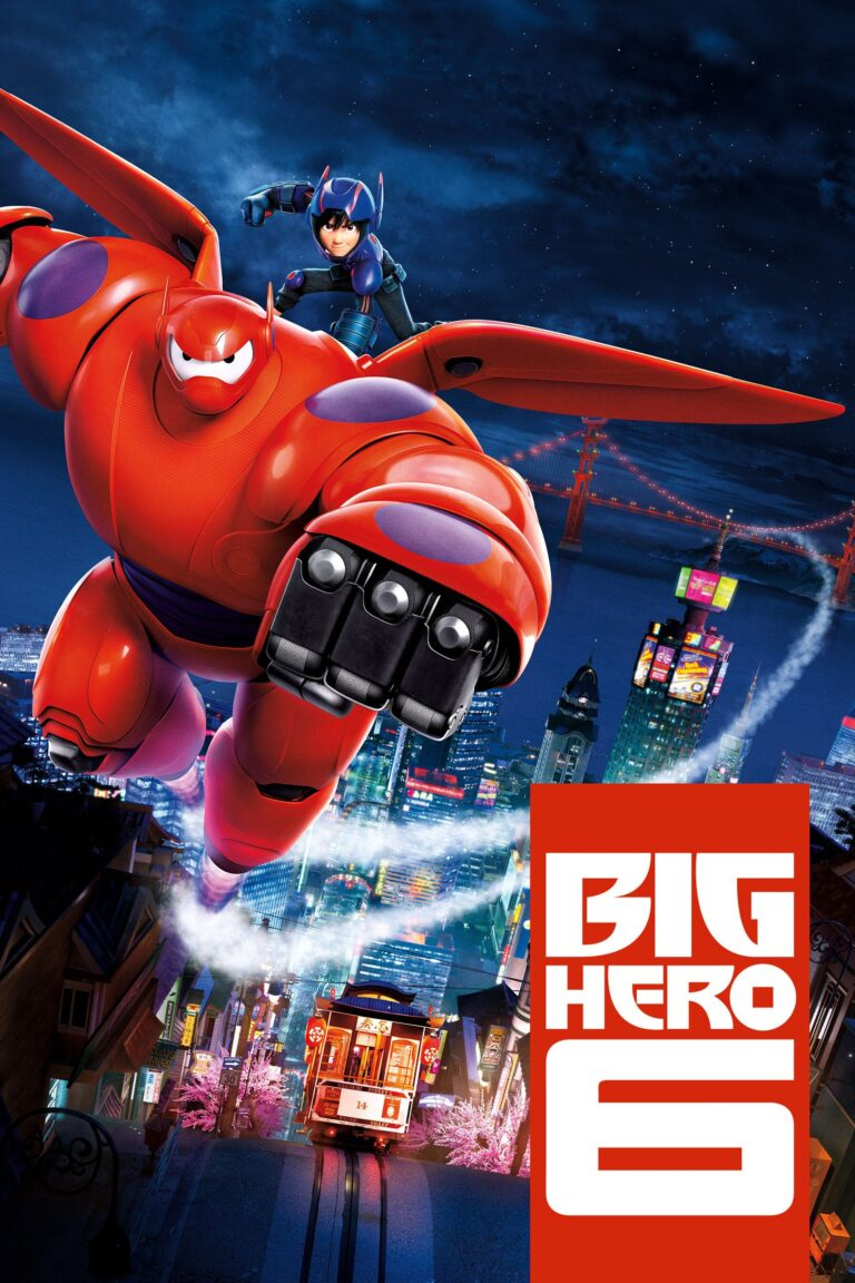 """Poster for the movie """"Big Hero 6"""""""