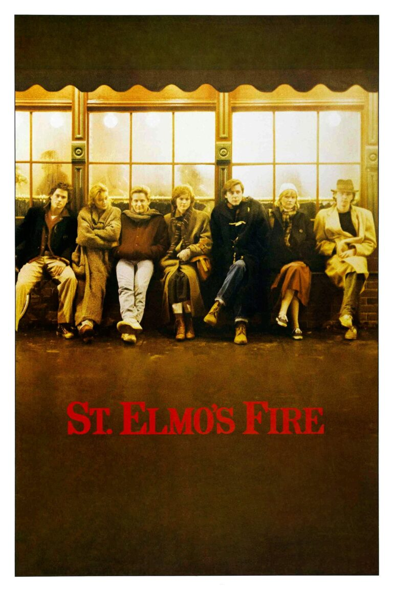 "Poster for the movie ""St. Elmo's Fire"""