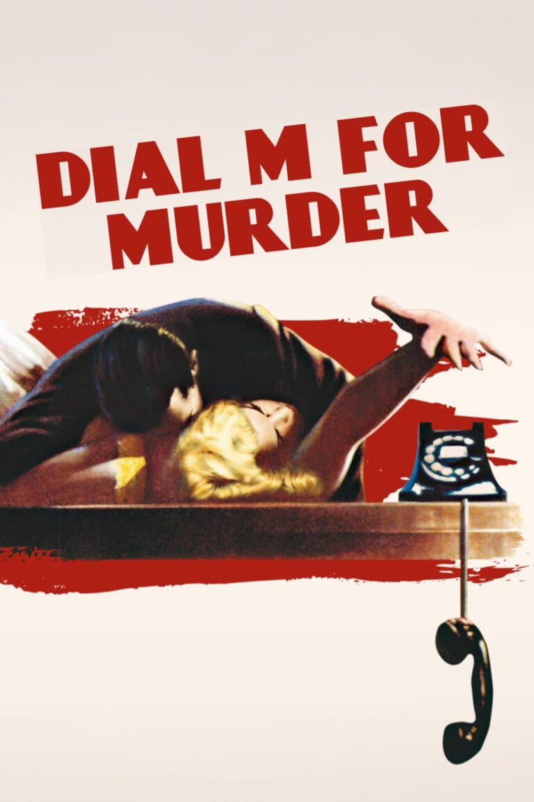 """Poster for the movie """"Dial M for Murder"""""""