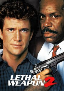 """Poster for the movie """"Lethal Weapon 2"""""""