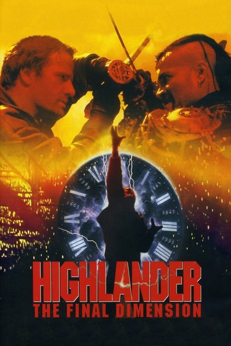 """Poster for the movie """"Highlander: The Final Dimension"""""""