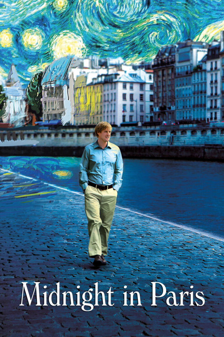 "Poster for the movie ""Midnight in Paris"""