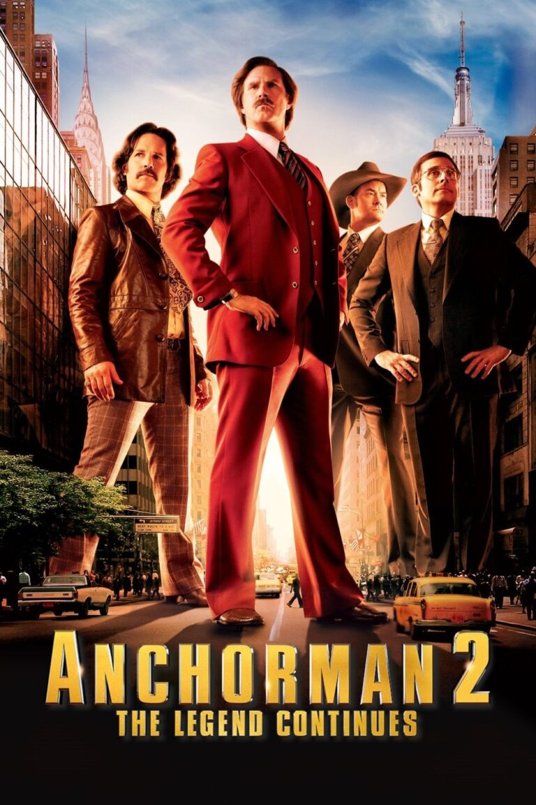 """Poster for the movie """"Anchorman 2: The Legend Continues"""""""
