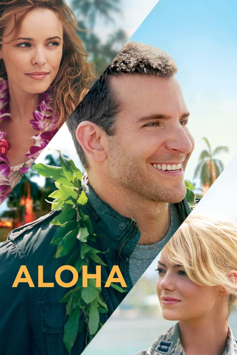 """Poster for the movie """"Aloha"""""""