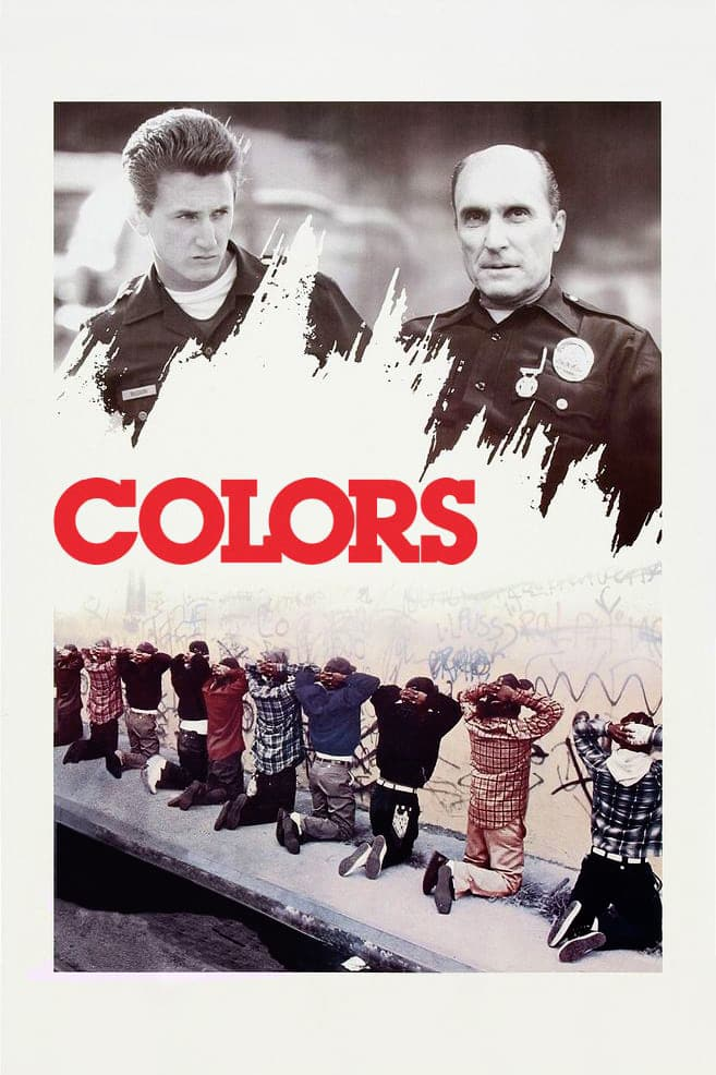 "Poster for the movie ""Colors"""