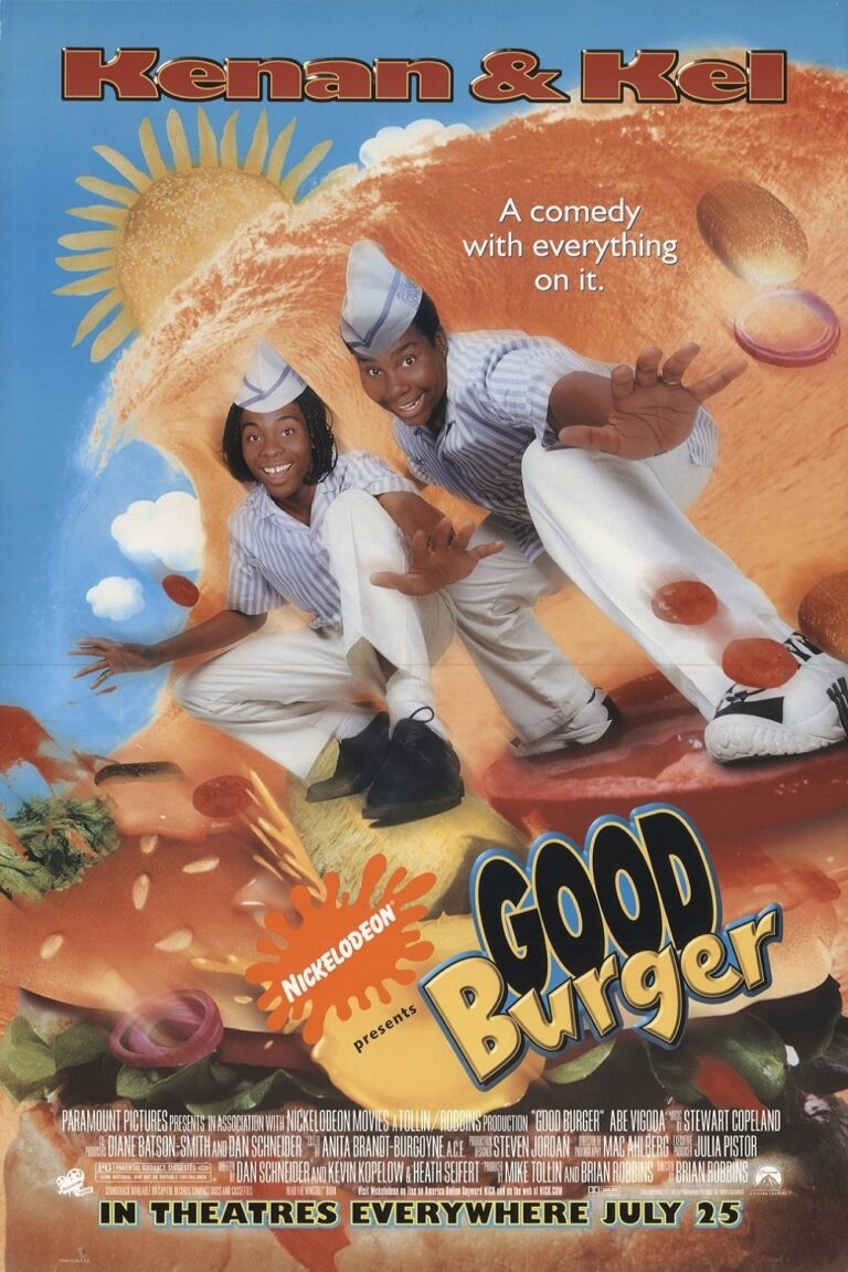 """Poster for the movie """"Good Burger"""""""