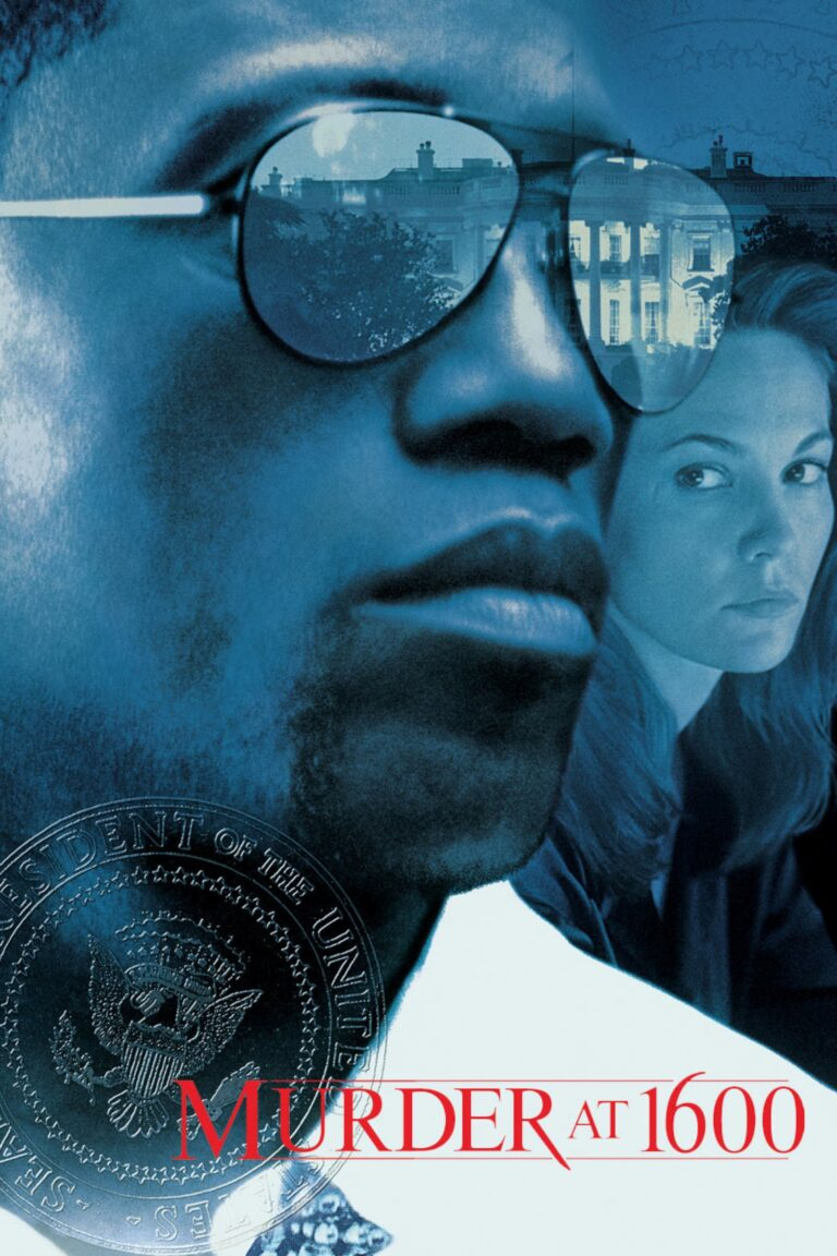 """Poster for the movie """"Murder at 1600"""""""