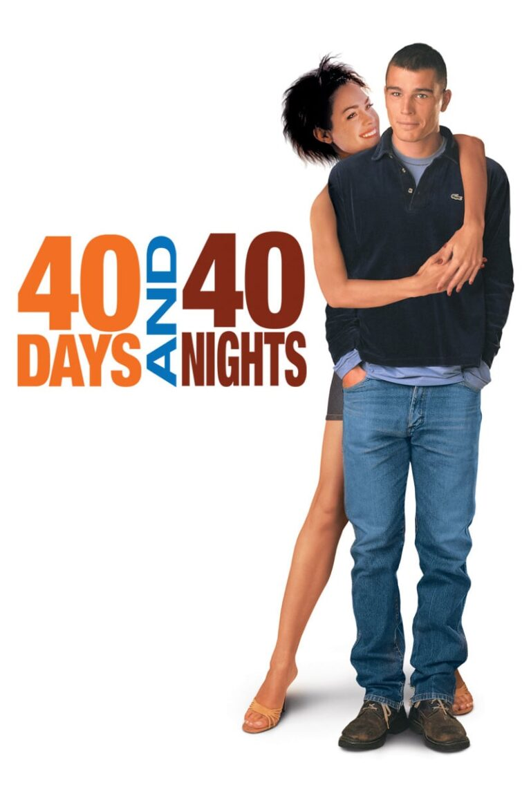 """Poster for the movie """"40 Days and 40 Nights"""""""