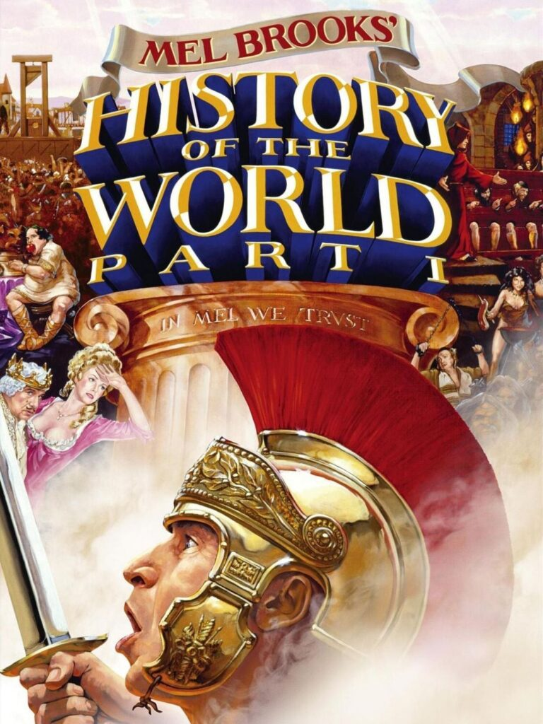 """Poster for the movie """"History of the World: Part I"""""""