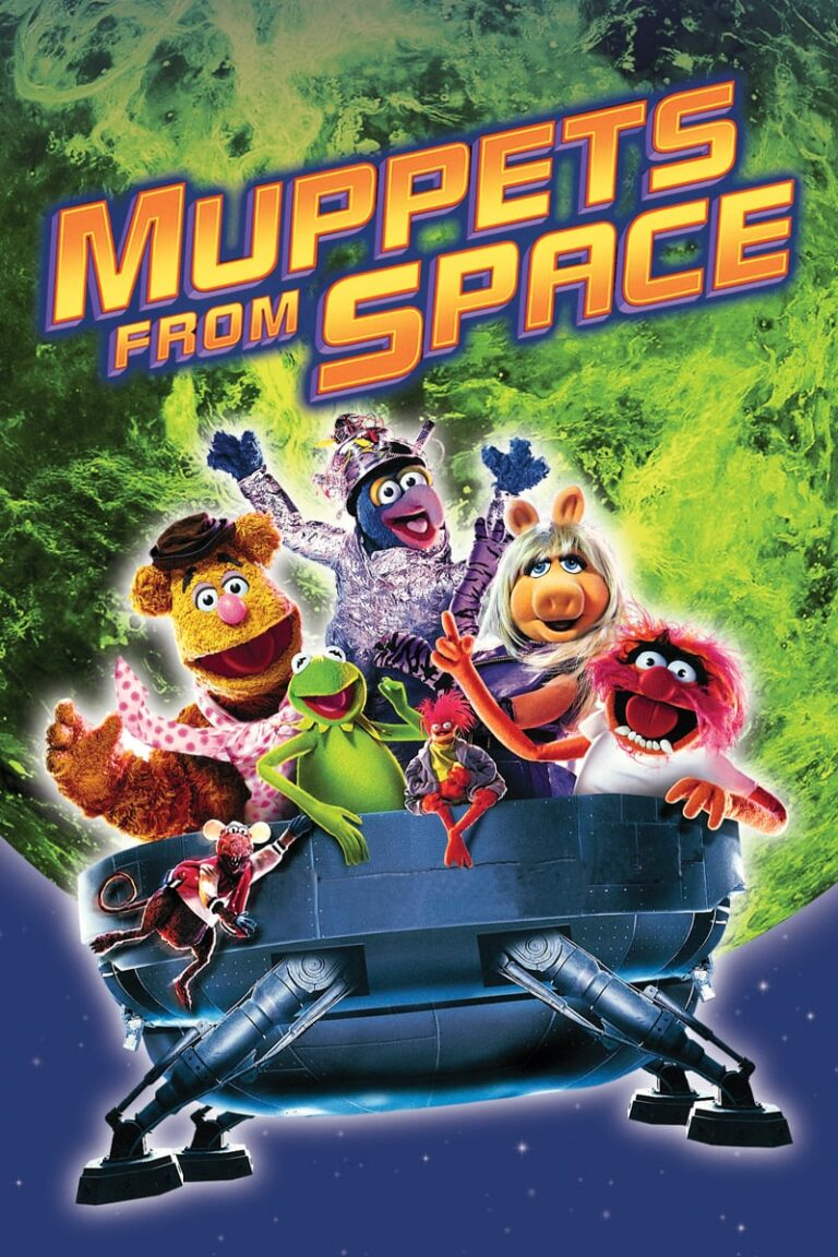 """Poster for the movie """"Muppets from Space"""""""