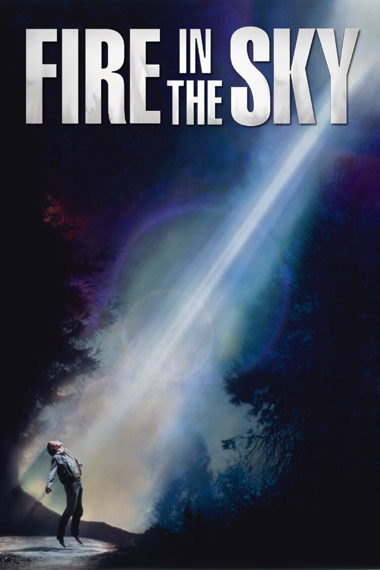 """Poster for the movie """"Fire in the Sky"""""""