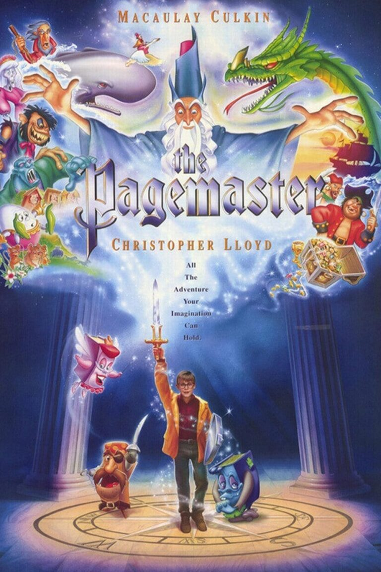 """Poster for the movie """"The Pagemaster"""""""