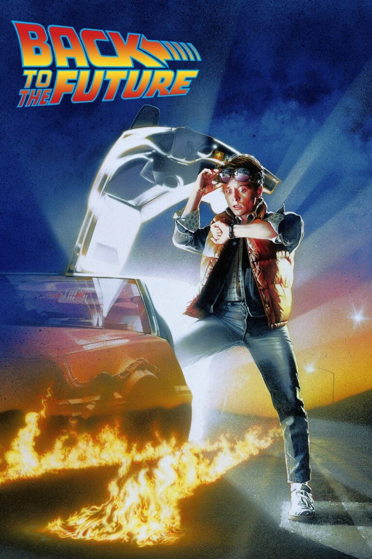 """Poster for the movie """"Back to the Future"""""""