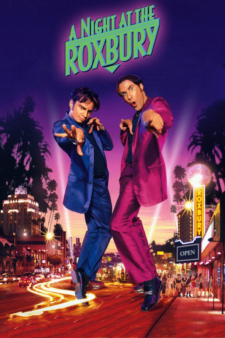"""Poster for the movie """"A Night at the Roxbury"""""""