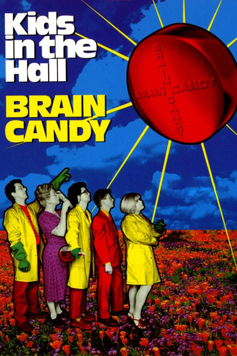 """Poster for the movie """"Kids in the Hall: Brain Candy"""""""