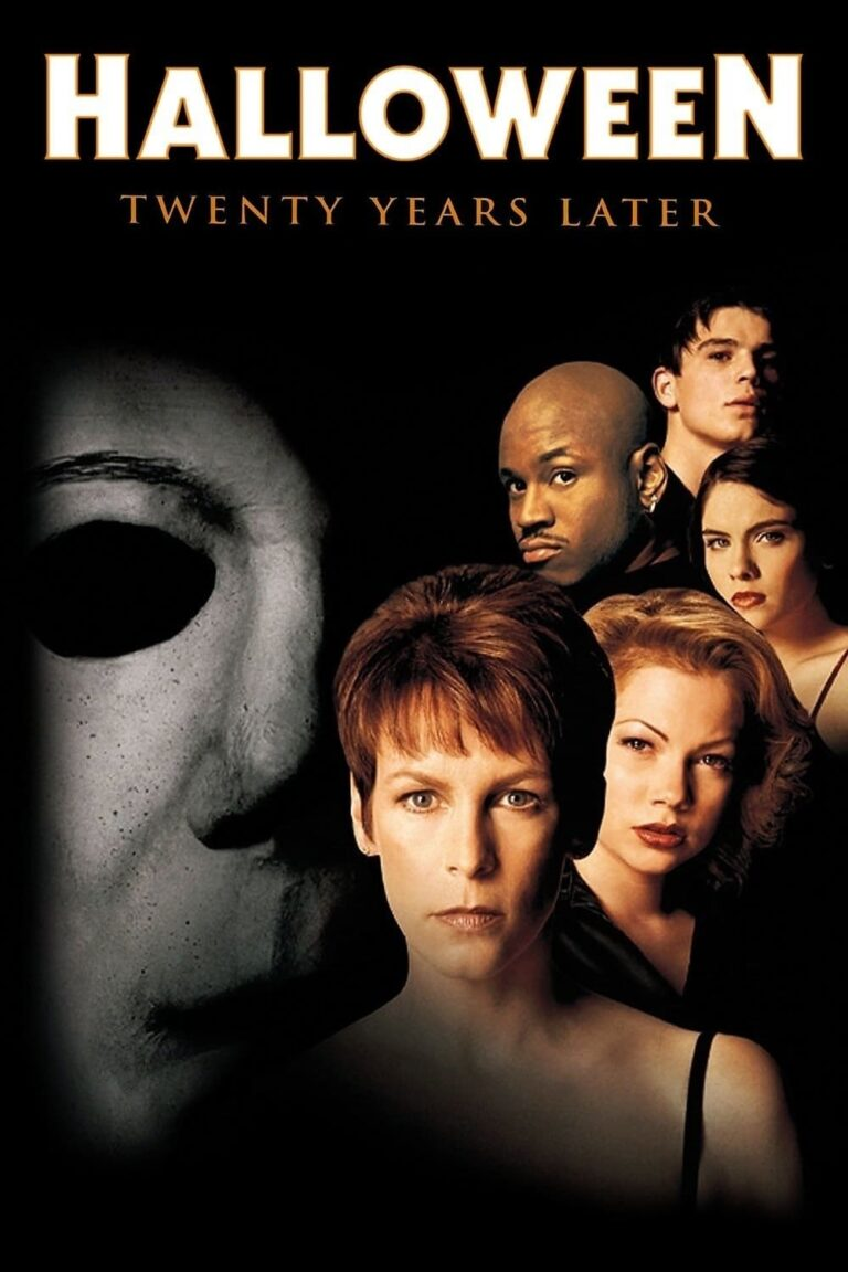 """Poster for the movie """"Halloween H20: 20 Years Later"""""""