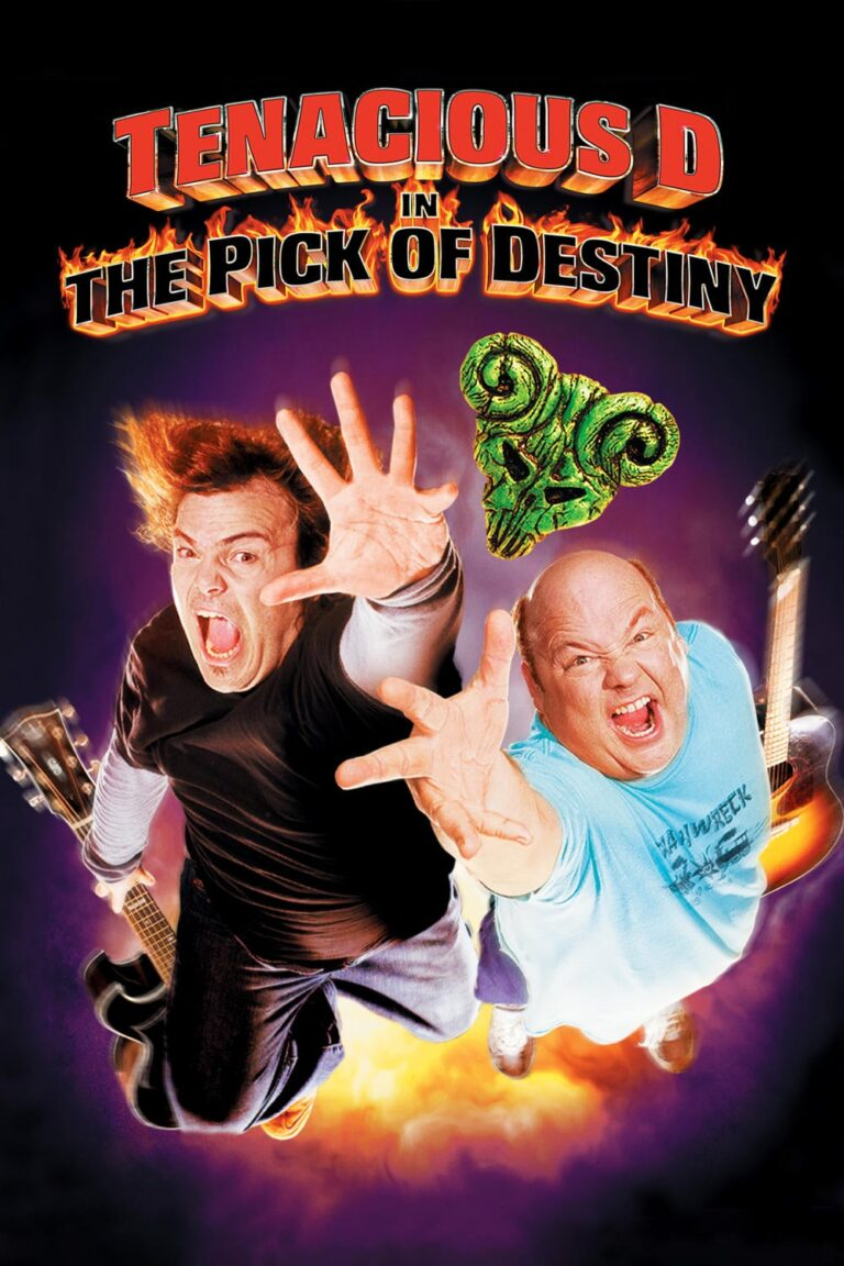 """Poster for the movie """"Tenacious D in The Pick of Destiny"""""""