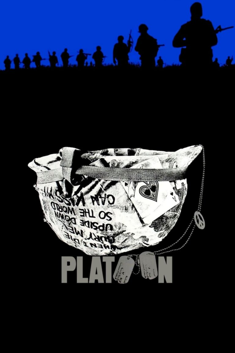 "Poster for the movie ""Platoon"""