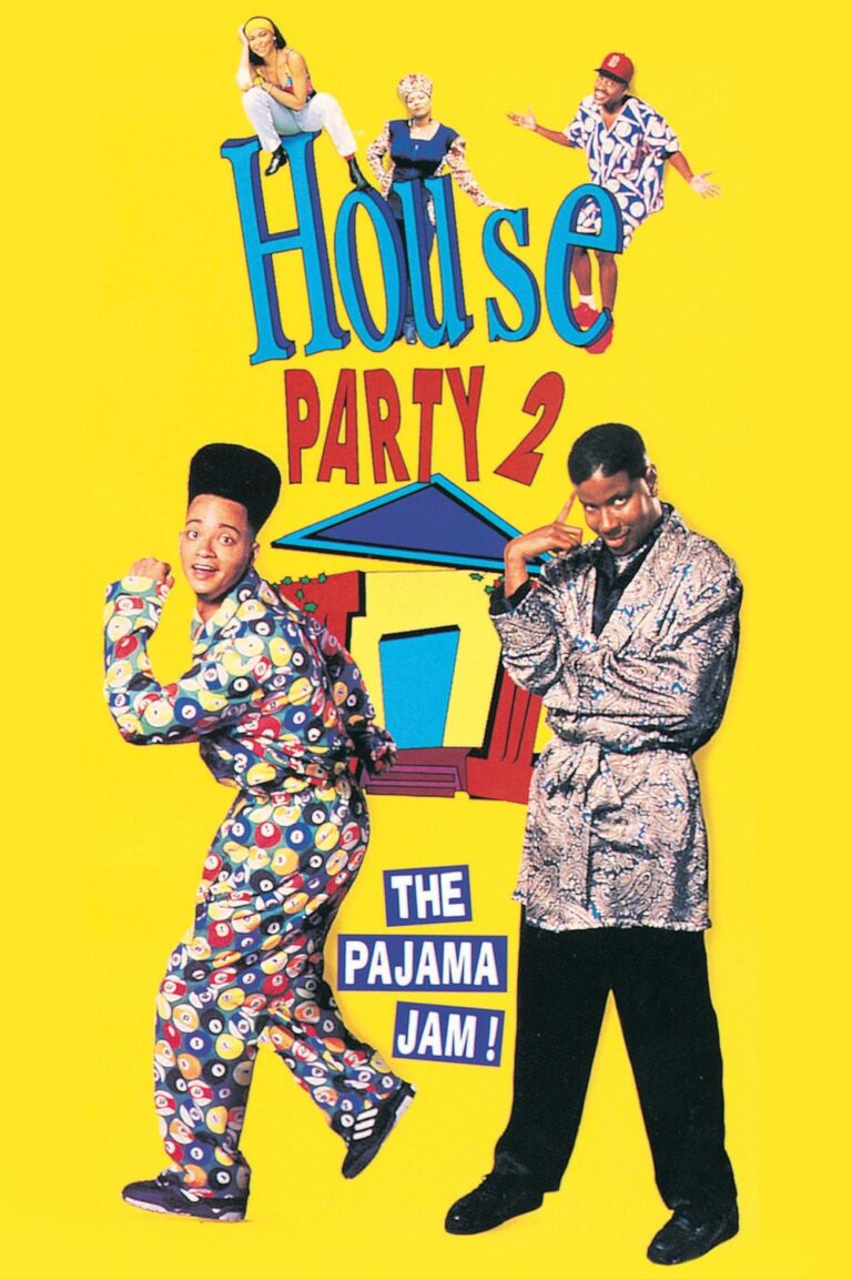 """Poster for the movie """"House Party 2"""""""