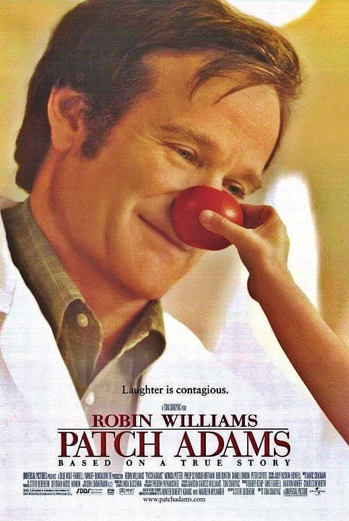 """Poster for the movie """"Patch Adams"""""""