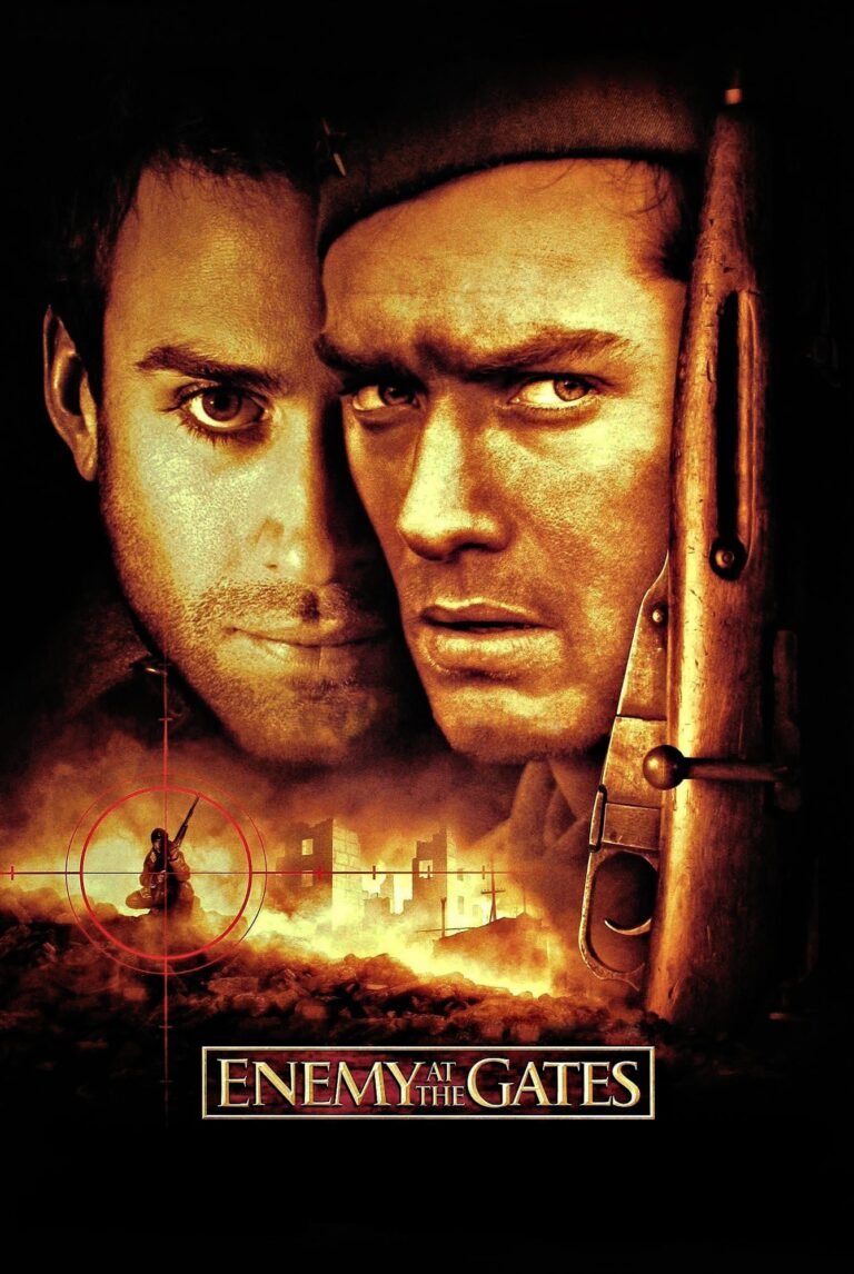 "Poster for the movie ""Enemy at the Gates"""