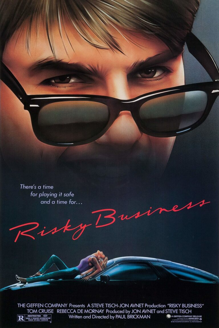 """Poster for the movie """"Risky Business"""""""