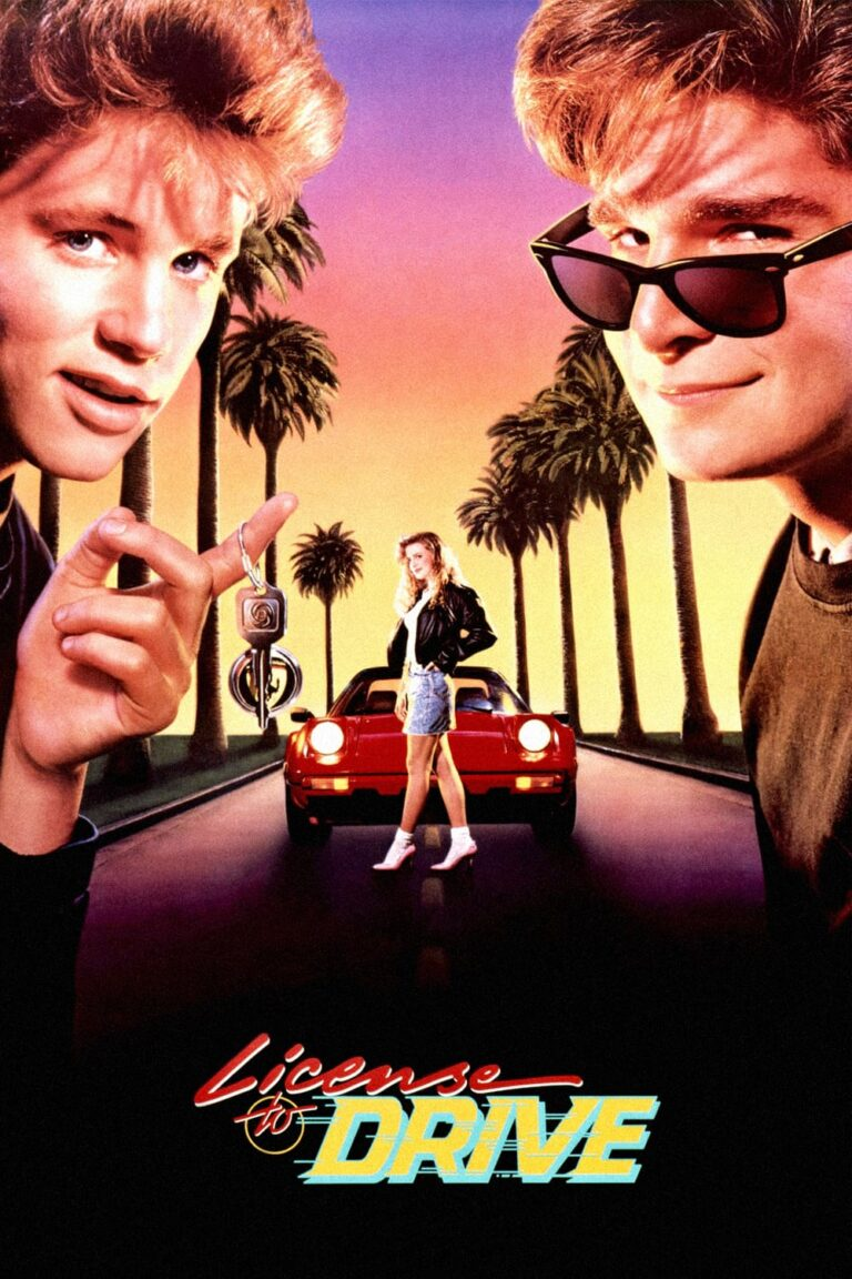 """Poster for the movie """"License to Drive"""""""