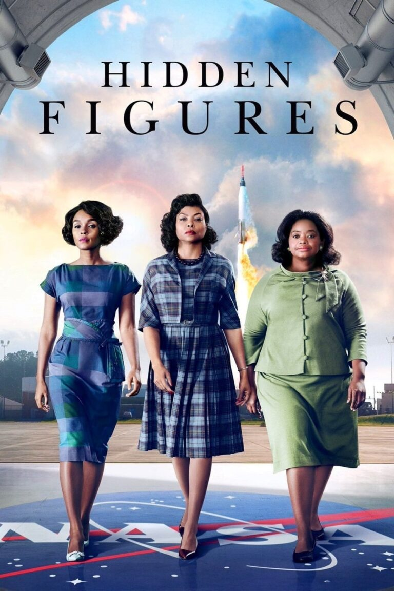 "Poster for the movie ""Hidden Figures"""