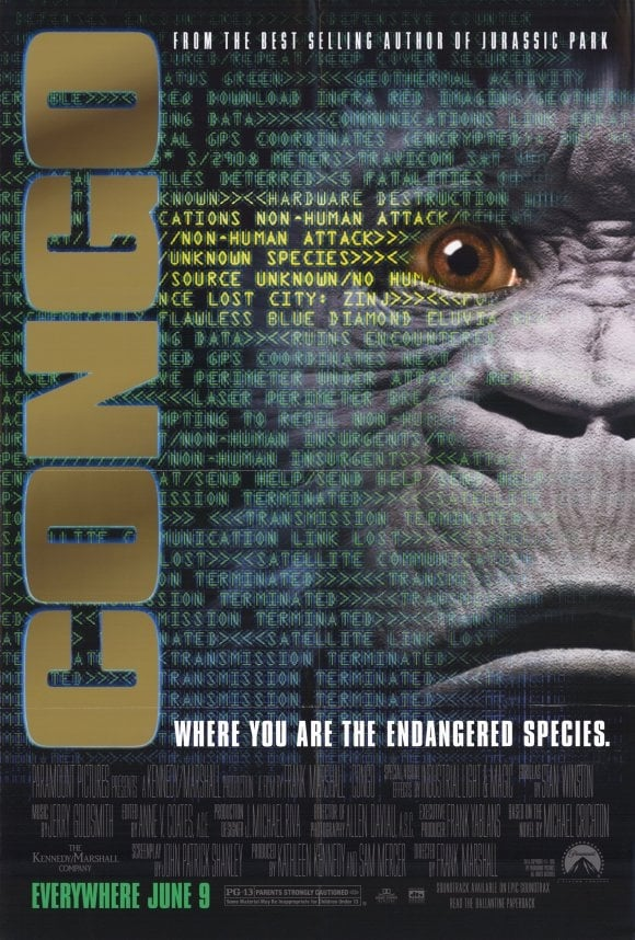 """Poster for the movie """"Congo"""""""