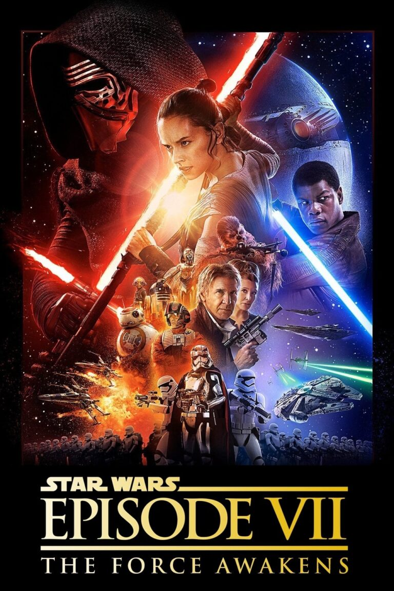 """Poster for the movie """"Star Wars: The Force Awakens"""""""