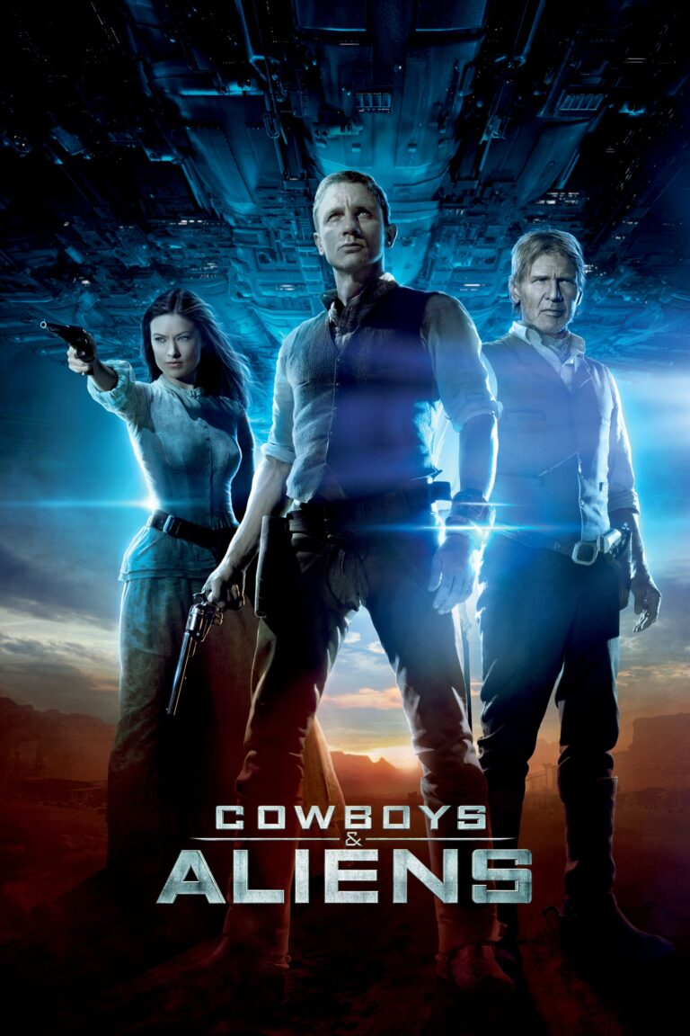 """Poster for the movie """"Cowboys & Aliens"""""""