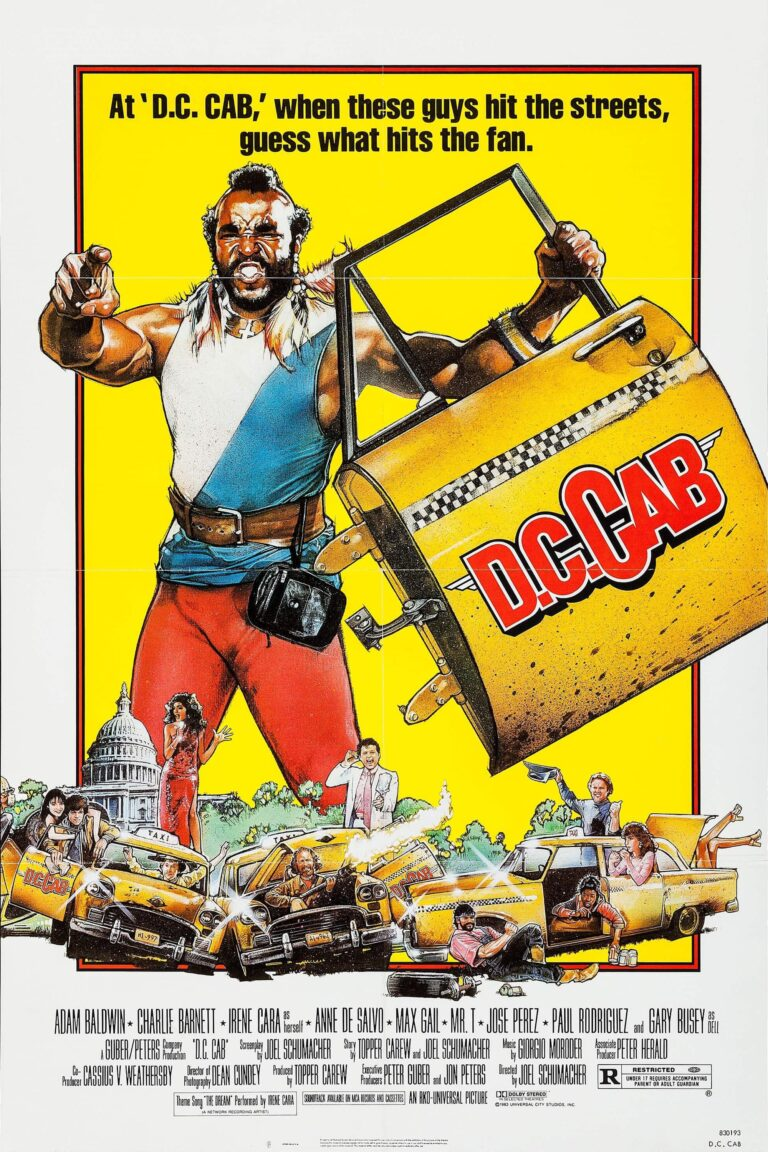 """Poster for the movie """"D.C. Cab"""""""