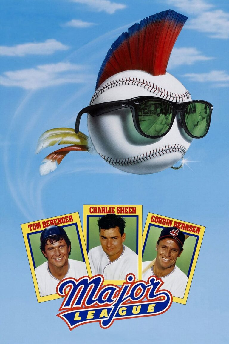 "Poster for the movie ""Major League"""