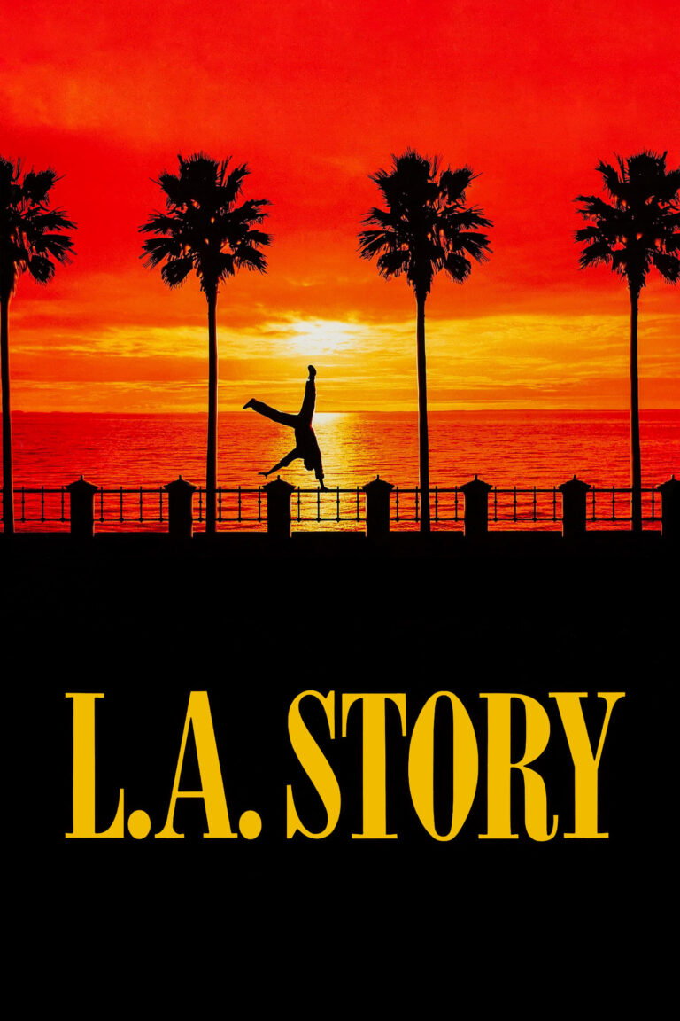 """Poster for the movie """"L.A. Story"""""""