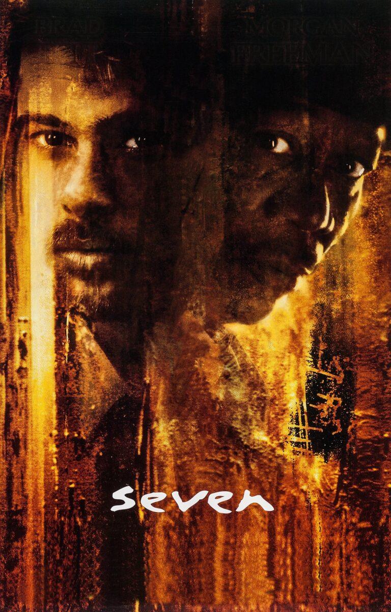 "Poster for the movie ""Se7en"""