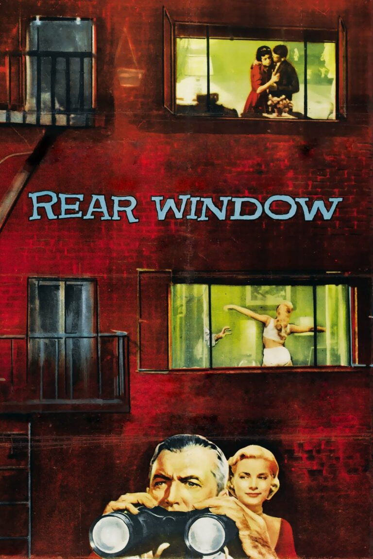 """Poster for the movie """"Rear Window"""""""