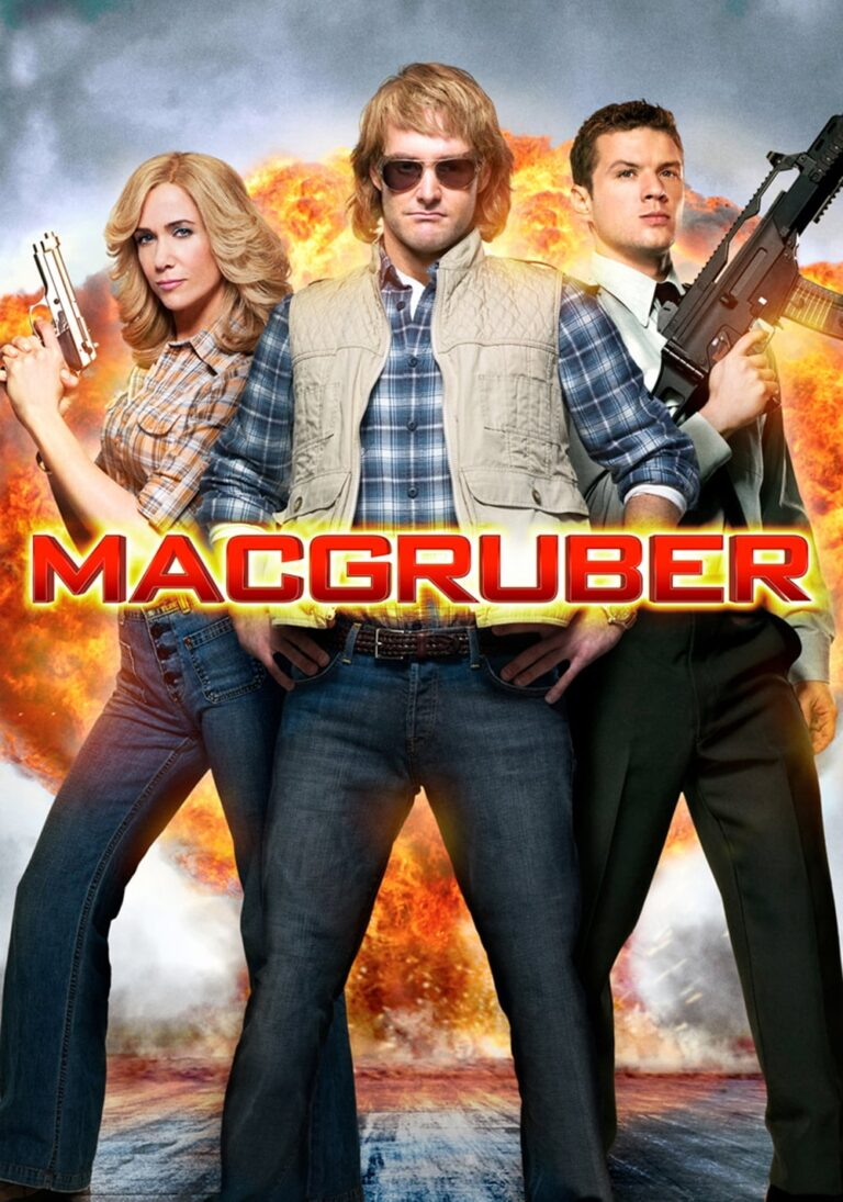 """Poster for the movie """"MacGruber"""""""