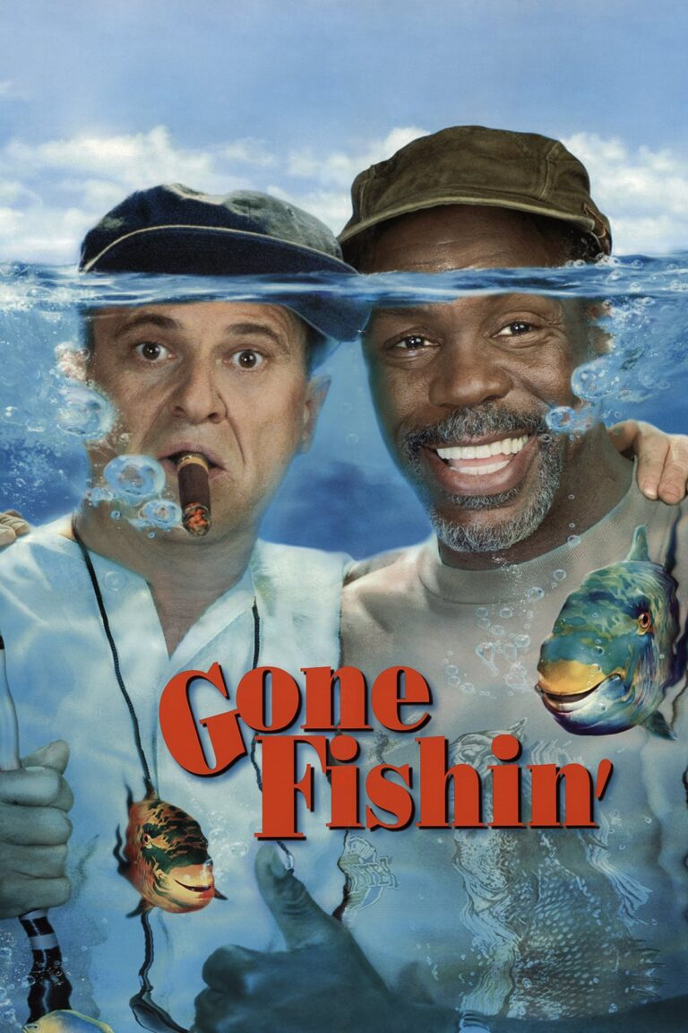 """Poster for the movie """"Gone Fishin'"""""""